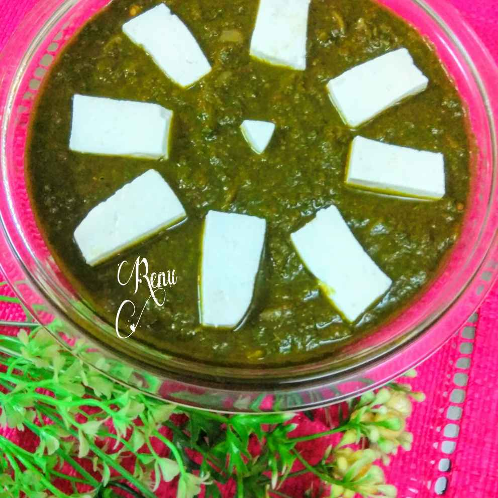 Photo of Flavourful palak paneer by Renu Chandratre at BetterButter
