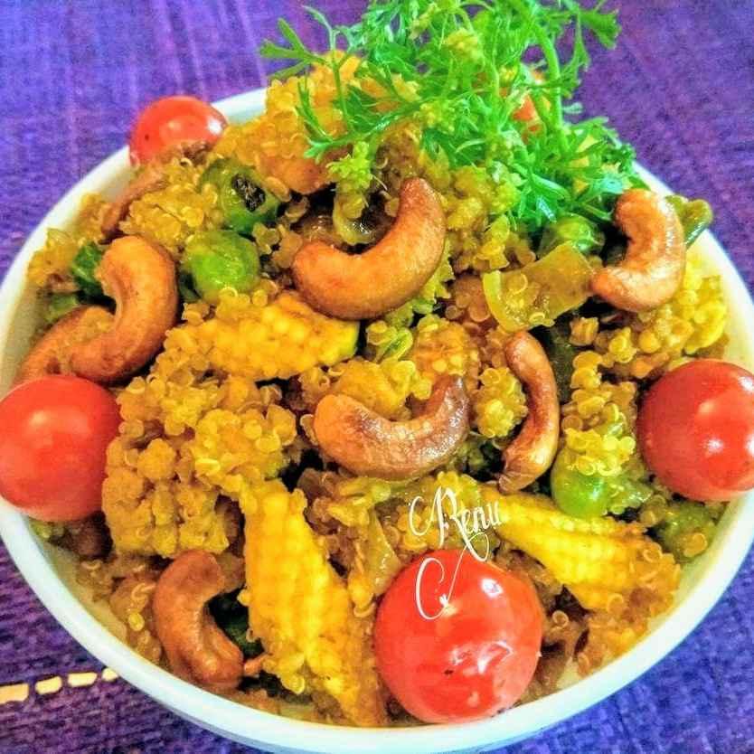 How to make Quinoa dum biryani