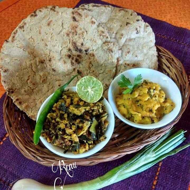 How to make Jhunka Bhakar And Pithla