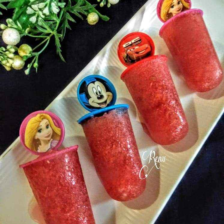 Photo of Watermelon Popsicles by Renu Chandratre at BetterButter