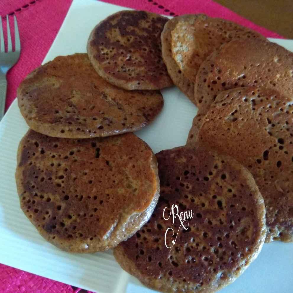 How to make whole wheat flour chocolate pancakes