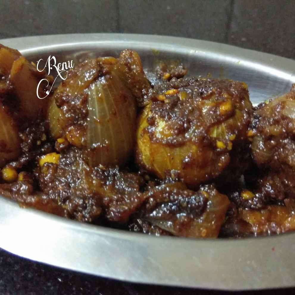 Photo of Spicy Sutffed Onion dhaba style by Renu Chandratre at BetterButter