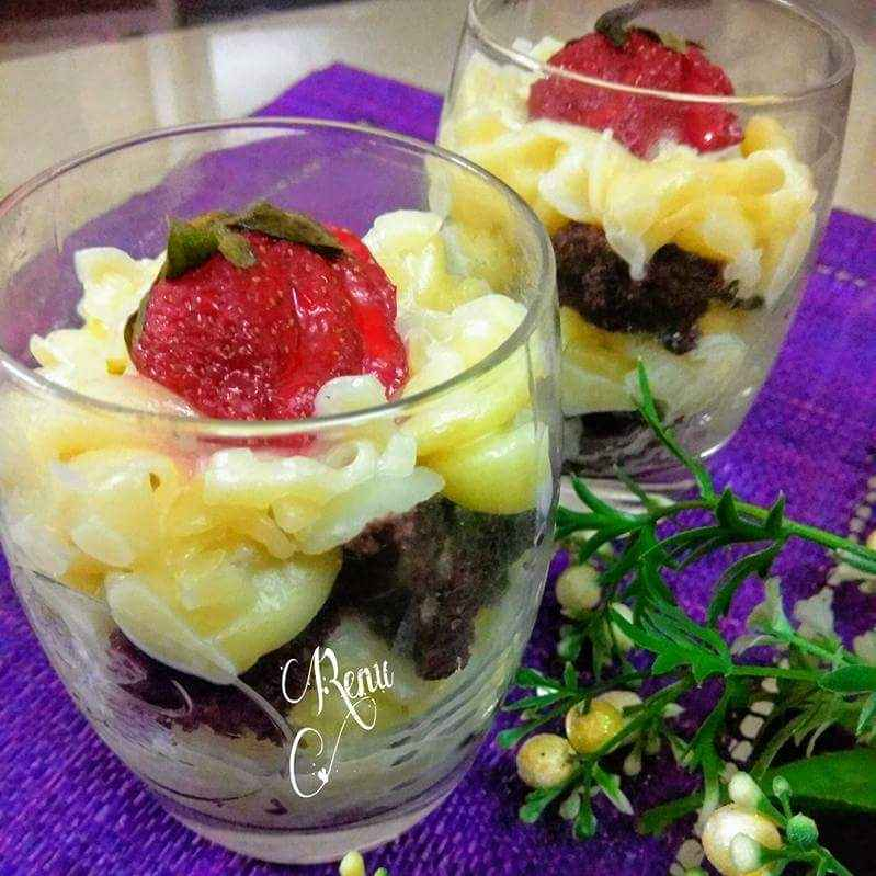 Photo of Pasta triffle pudding by Renu Chandratre at BetterButter