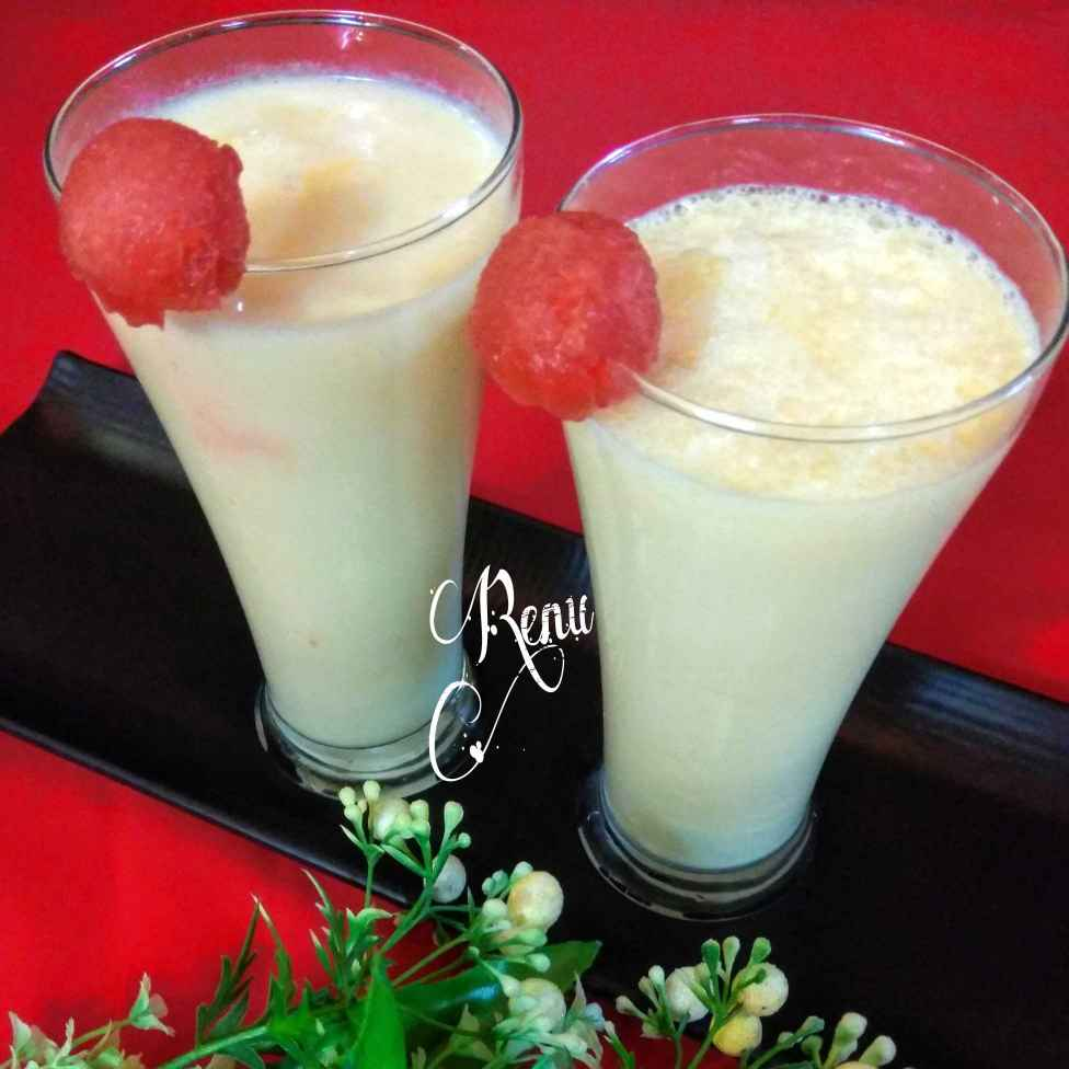 Photo of Muskmelon Lassi by Renu Chandratre at BetterButter