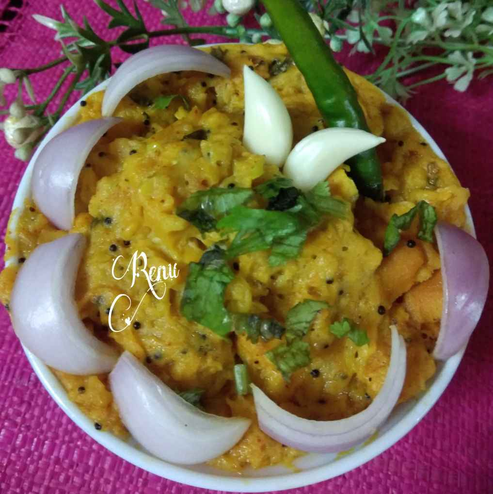 Photo of Cucumber Pithla by Renu Chandratre at BetterButter