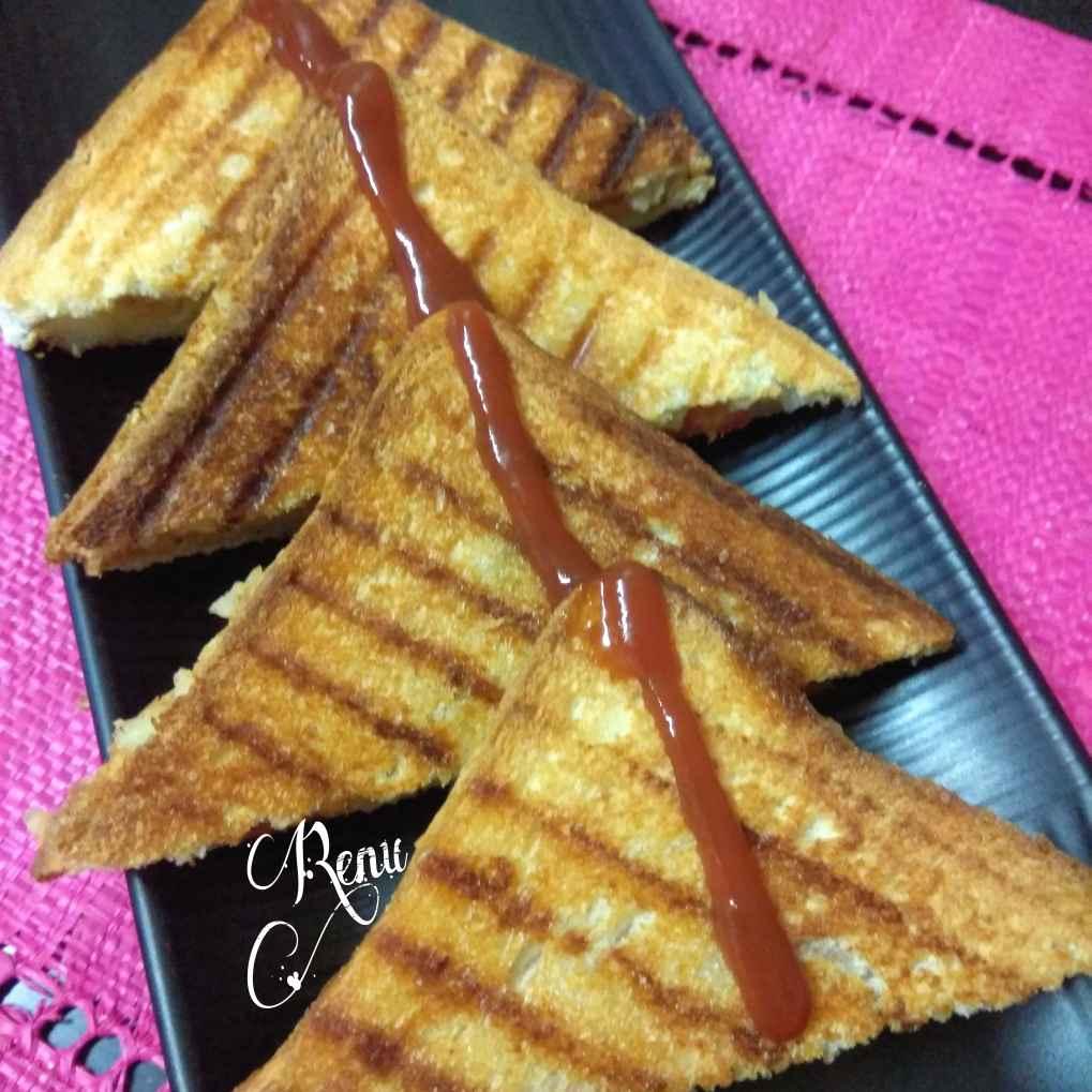 How to make ग्रिल्ड सैंडविच