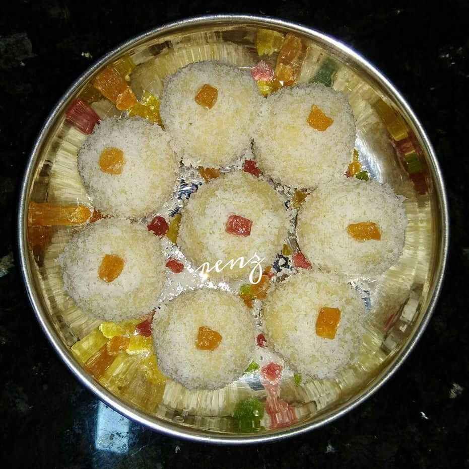 Photo of Instant Coconut laddu by Renu Chandratre at BetterButter