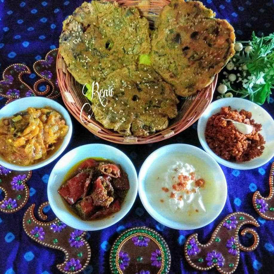 Photo of Khamang / Flavourful Thalipith by Renu Chandratre at BetterButter
