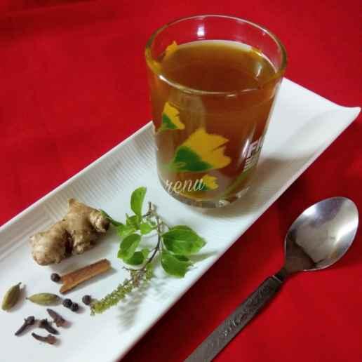Photo of Tulsi Kadha / Herbal Tea by Renu Chandratre at BetterButter
