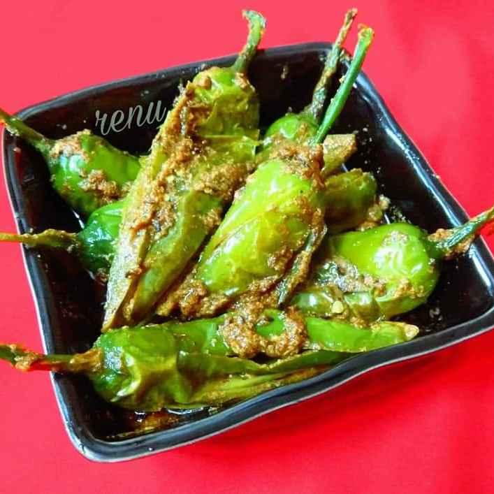 Photo of Green Chillies Yogurt Sabji by Renu Chandratre at BetterButter