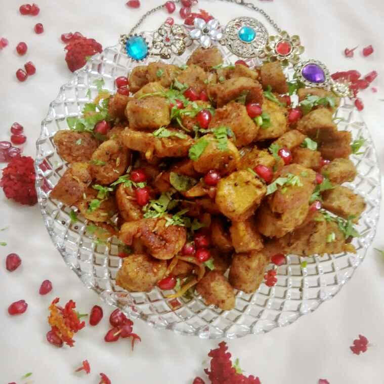 Photo of Stirr fry lauki muthiya by Renu Maurya at BetterButter