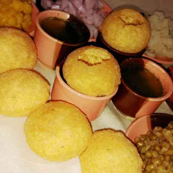 Photo of Pani puri indian pasandida street food by Renu Maurya at BetterButter