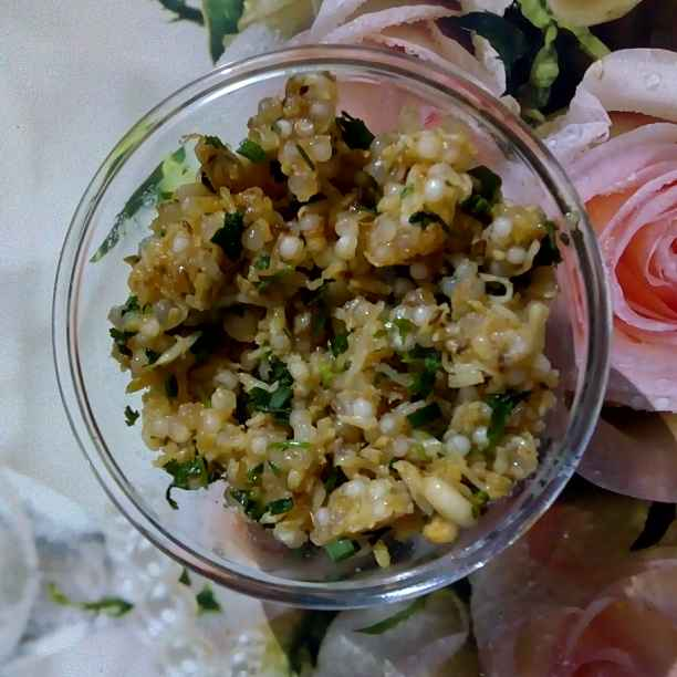 Photo of Sweet potato sabudana khichdi by Renuka Pandya at BetterButter