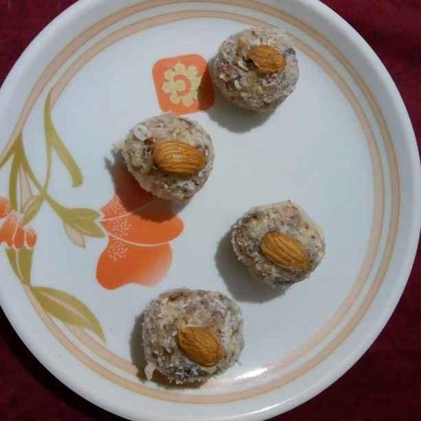 Photo of Date peanut ladoo by Renuka Pandya at BetterButter