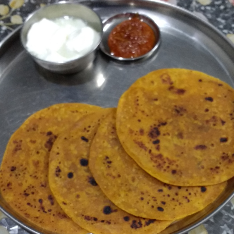 How to make Sada Thepla