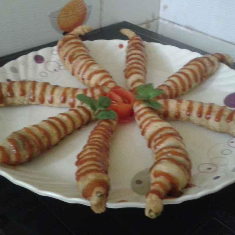 Photo of Spicy Matar Spring Roll by Reshma Rokadiya at BetterButter