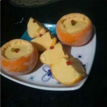 How to make Orange Ice Cream