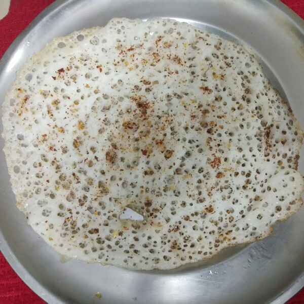 How to make Ghee pepper powder dosa