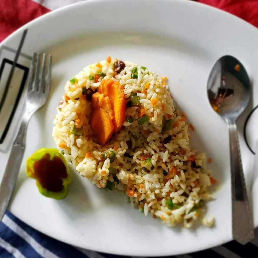 Photo of Veg fried rice by Revathi Kumari at BetterButter