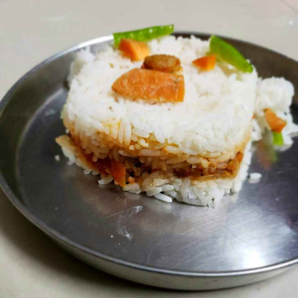 Photo of Meal maker tomato rice by Revathi Kumari at BetterButter