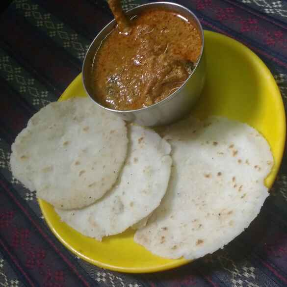 Photo of pathri(rice roti) by Revathi Reva at BetterButter
