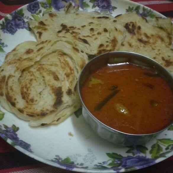 Photo of Parotta by Revathi Reva at BetterButter