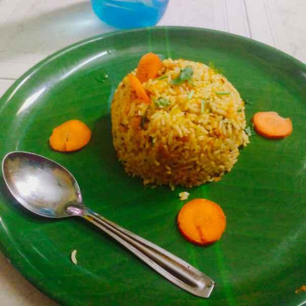 Photo of Carrot rice by Revathi Reva at BetterButter