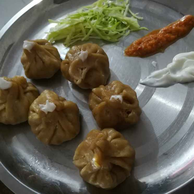 How to make Protein and Whole Wheat Veg. Flour Momos
