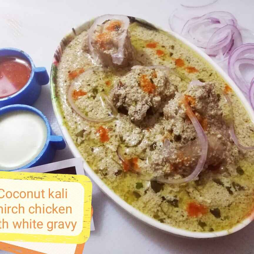 Photo of Coconut Kali Mirch Chicken  by shaifali Saxena at BetterButter
