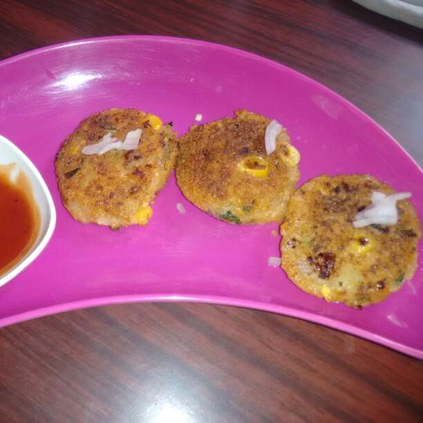 Photo of SWEET CORN TIKKI by Rg SriVidhya Navin at BetterButter