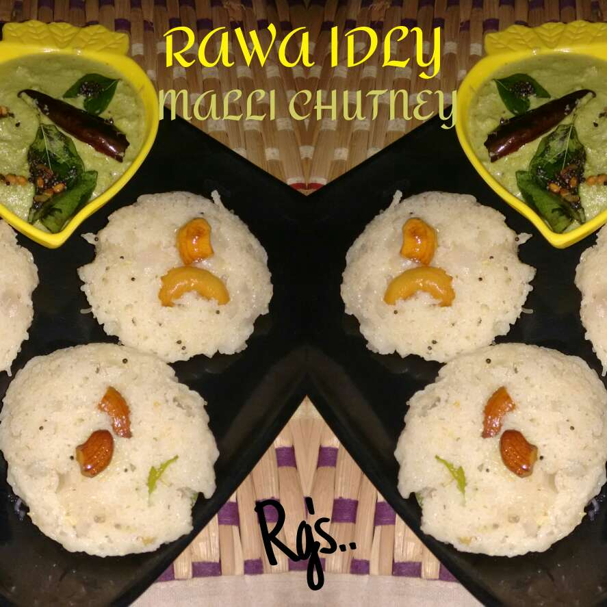 How to make Rawa Idli