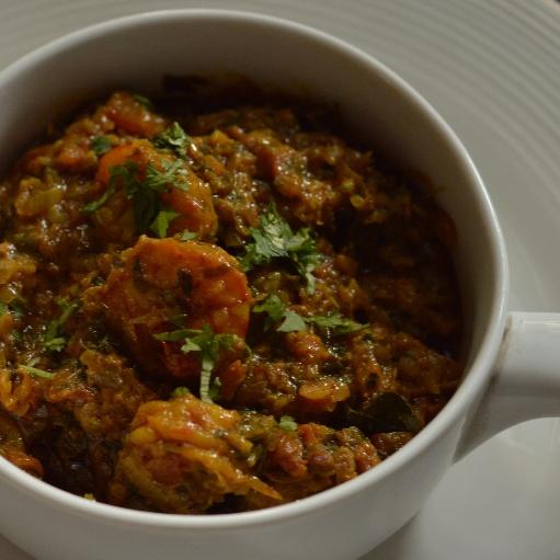 Photo of Kolmi no Tatrelo Patio - Spiced Prawns, Parsi Style by Rhea Mitra-Dalal at BetterButter