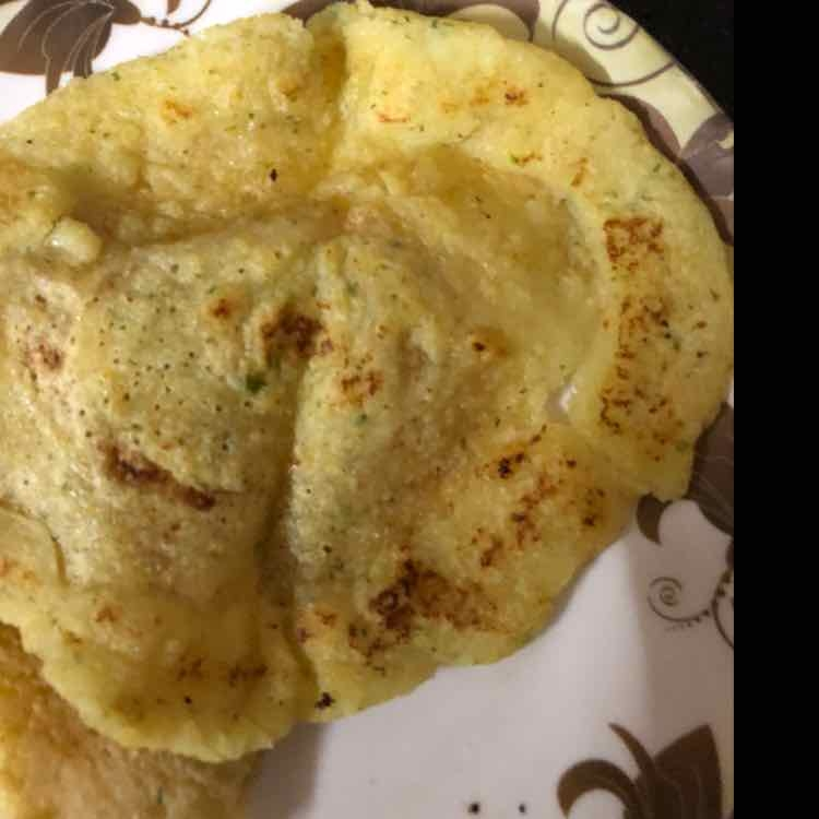 How to make Corn N Moong Dal Pancake
