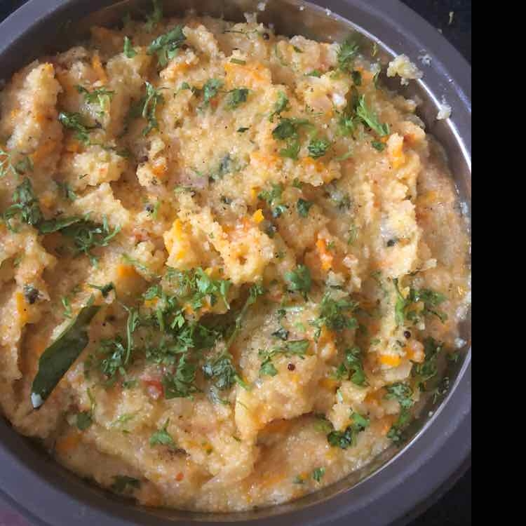 Photo of Onion; Carrot Oats Upma by Richa Anand Ajmani at BetterButter