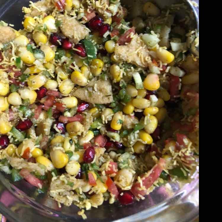 How to make Corn Bhel