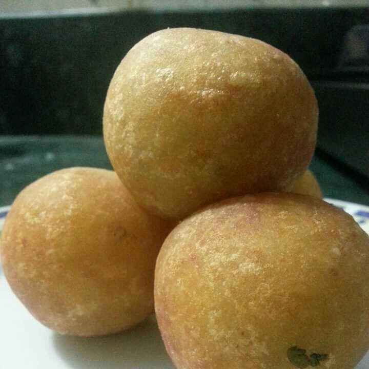 How to make Potato Balls with Sweet and Sour Coconut Filling
