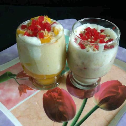 Photo of Mango Mastani With Banana bajiraw by Richa Mehrotra at BetterButter
