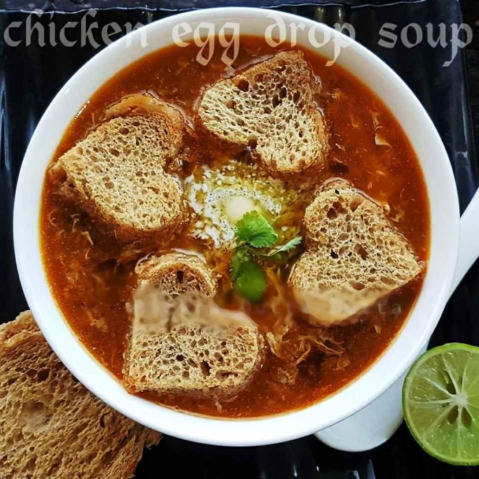 Photo of Chicken egg drop soup by Rickta Dutta at BetterButter