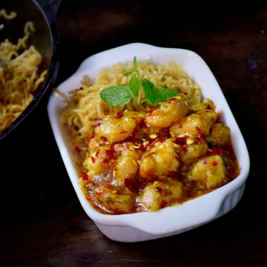 How to make Chilli butter garlic prawn