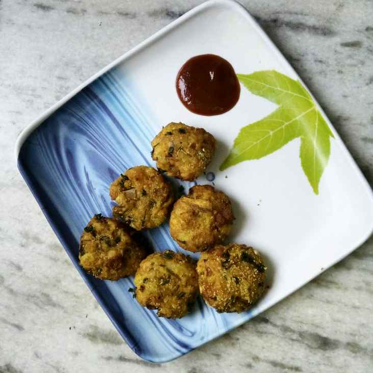 How to make Raw banana with Oats Cutlet