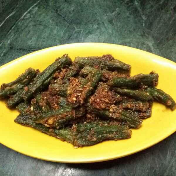 How to make Bharwa bhindi