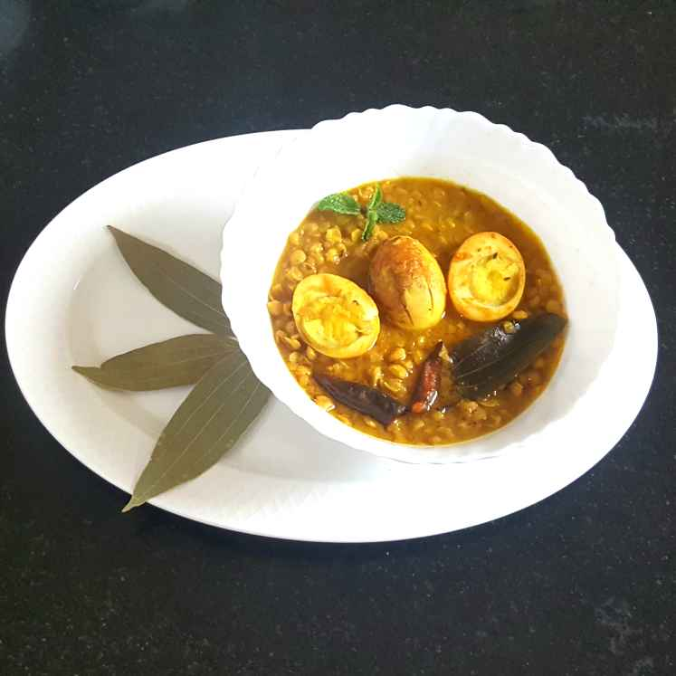 Photo of EGGS IN BENGAL GRAM LENTIL by MOUMITA DAS at BetterButter