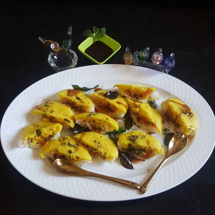 Photo of BREAD DHOKLA SANDWICH by MOUMITA DAS at BetterButter