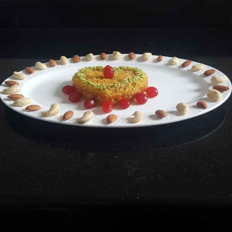 Photo of CREAM KANAFEH by MOUMITA DAS at BetterButter