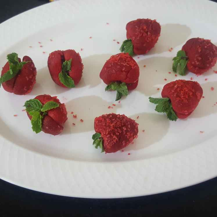 Photo of STRAWBERRY COOKIES by MOUMITA DAS at BetterButter