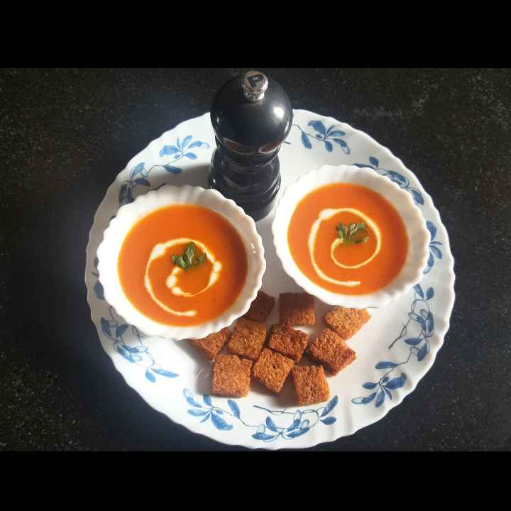 Photo of Tomato soup by MOUMITA DAS at BetterButter