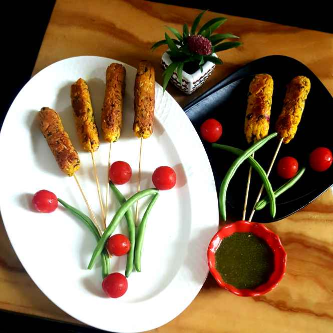 Photo of CURD SEEKH KABAB by MOUMITA DAS at BetterButter