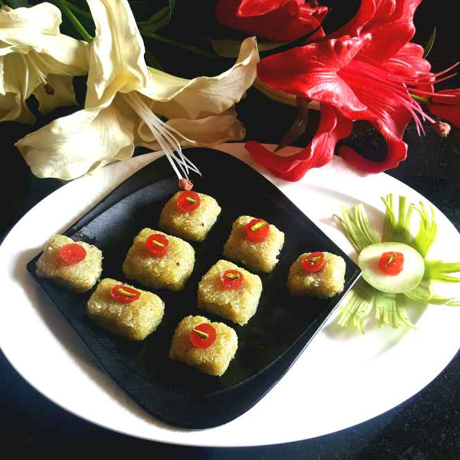 Photo of BOTTLE GOURD SWEET CONFECTIONARY by MOUMITA DAS at BetterButter