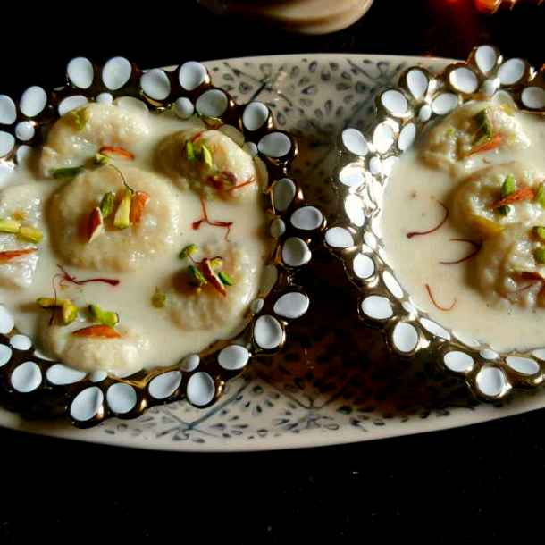 How to make Egg rasmalai