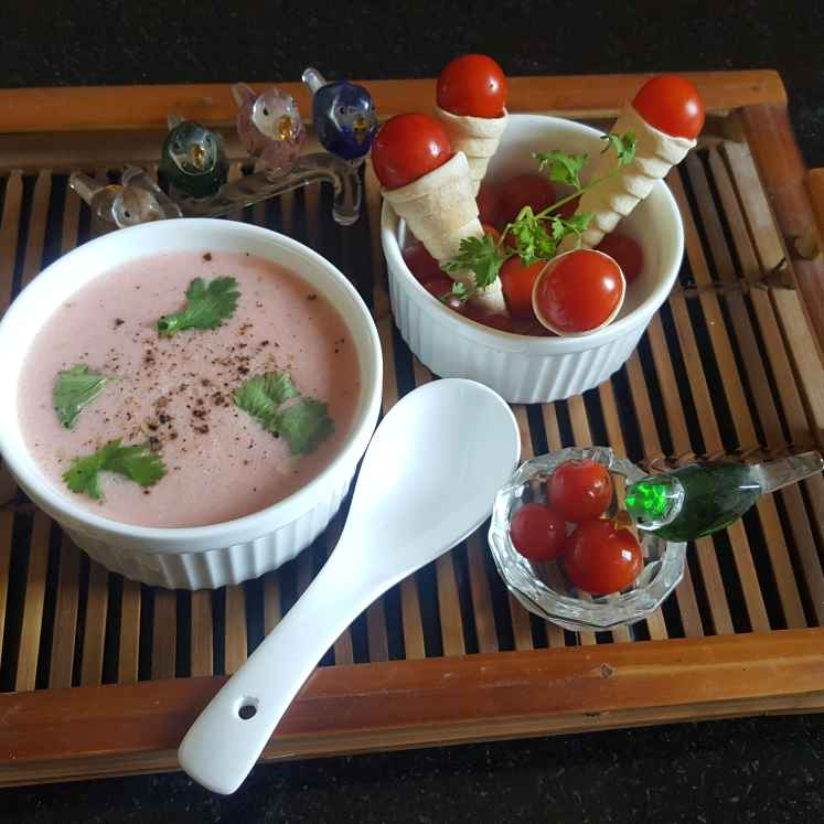 Photo of PINK SOUP by MOUMITA DAS at BetterButter